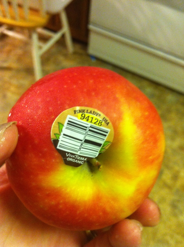 Pink Lady Apple Barcode