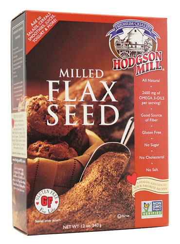 Hodgson Mill Flaxseed Box image